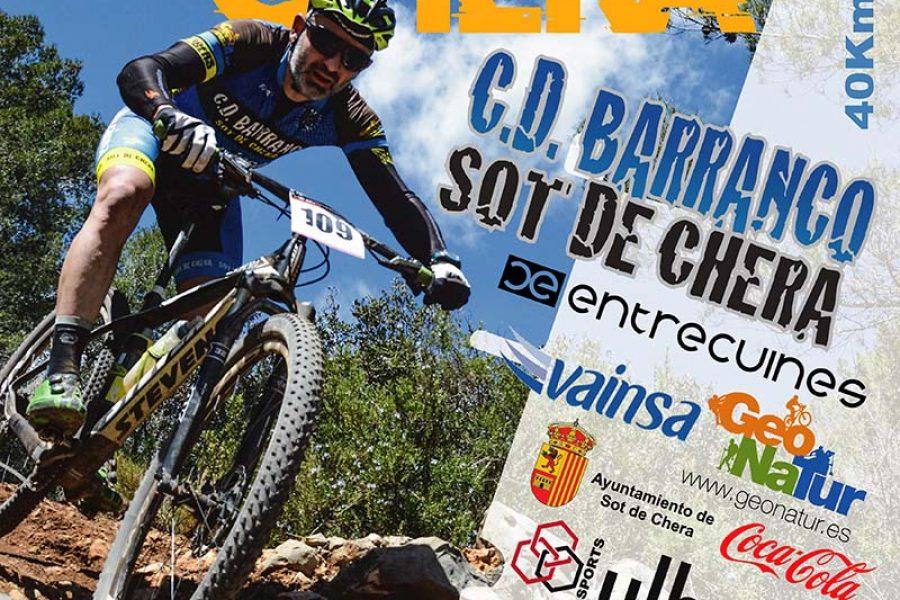 15ª Marcha BTT Sot de Chera 2018, del Circuito de La Serranía: ¡muy cerca de Valencia!